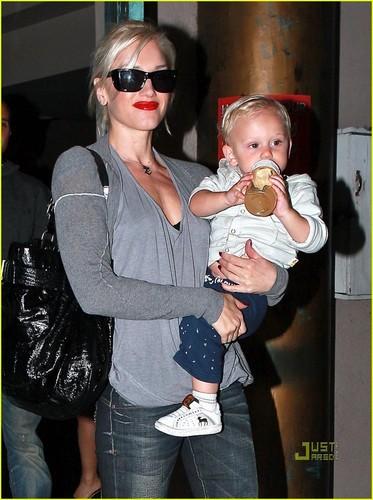 Gwen Stefani & Gavin Rossdale tuktok Hot listahan