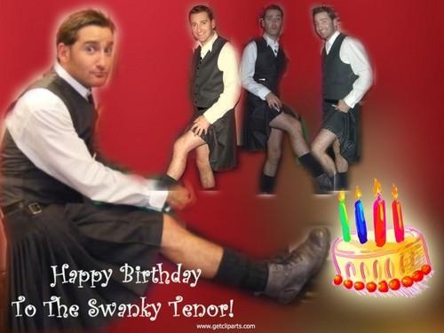 Happy Birthday to The Swanky Tenor!