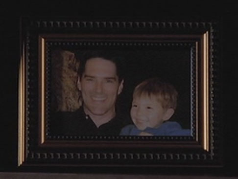 Criminal Minds achtergrond called Hotch & Jack