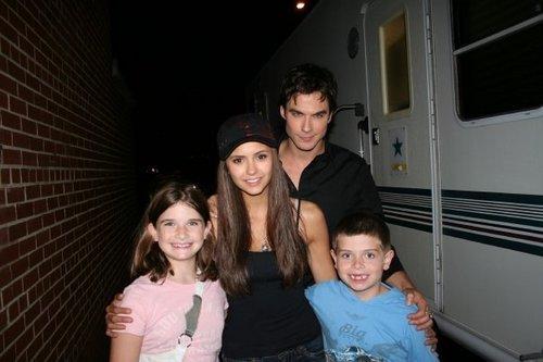 Ian _ Nina & fans