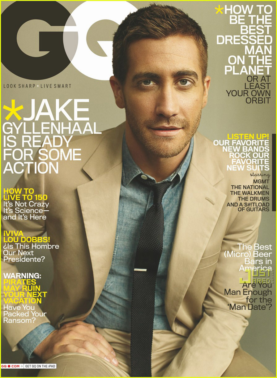 Jake Gyllenhaal - 'GQ' May 2010 Cover Star!