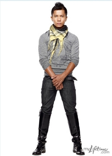 Project Runway wallpaper entitled Jay Nicolas Sario