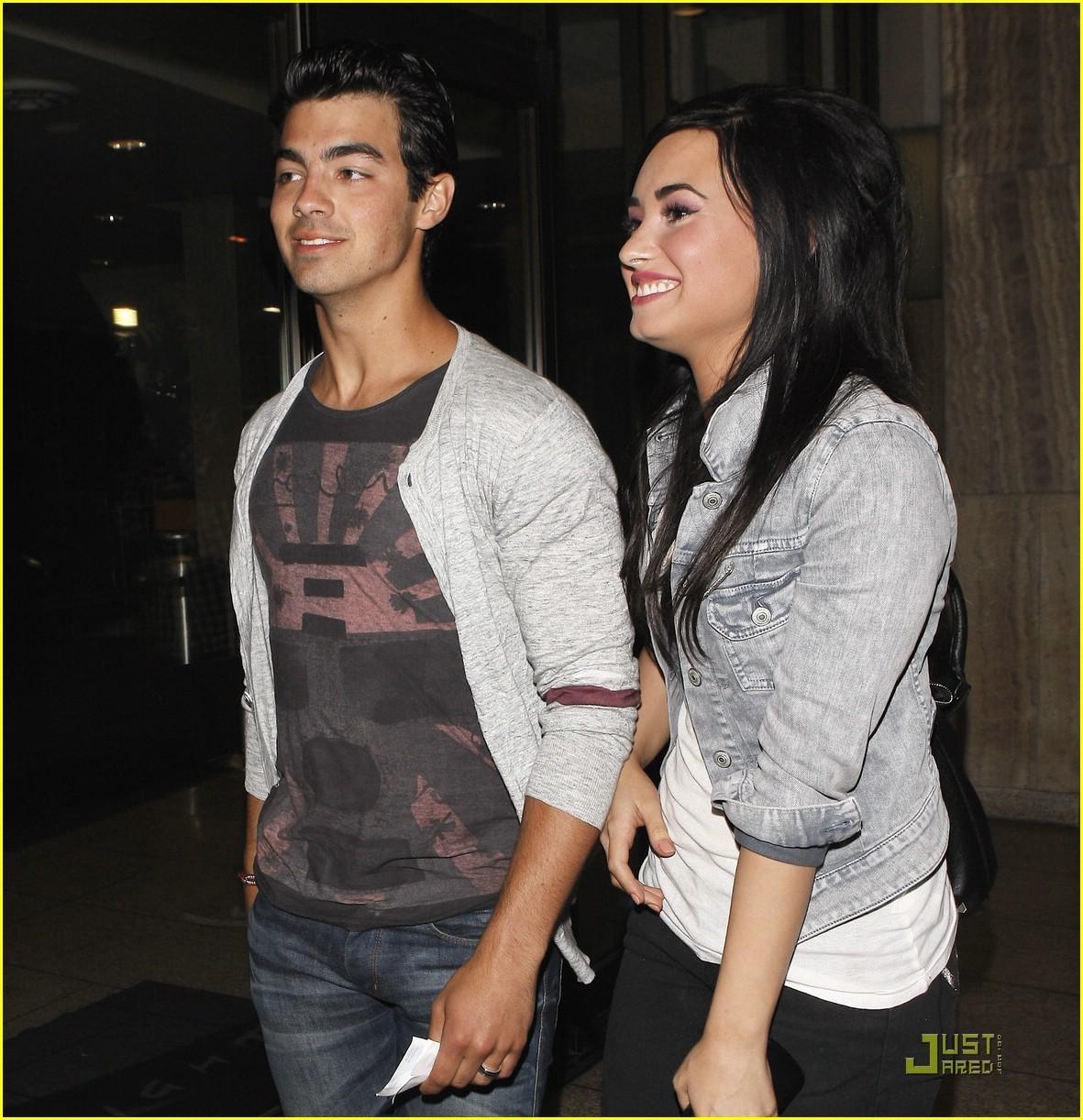 Joe Jonas & Demi Lovato: Arclight encontro, data Night!