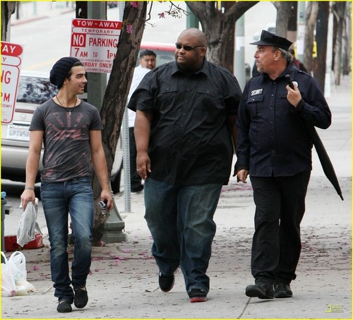Joe Jonas is TOMS Shoes Smiley