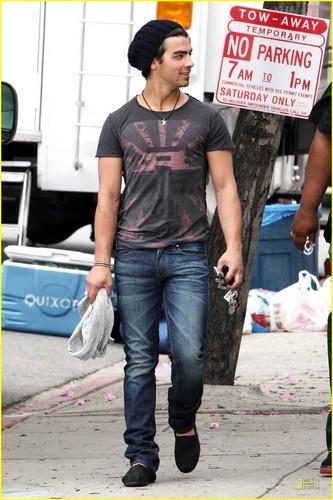 Joe Jonas is TOMS Shoes Smiley