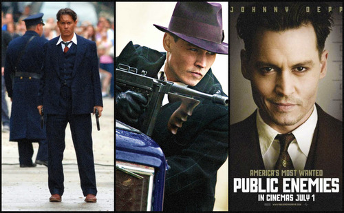 John Dillinger Collage (Public Enemies)