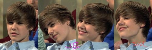 Justin Bieber SNL best faces (I made them)