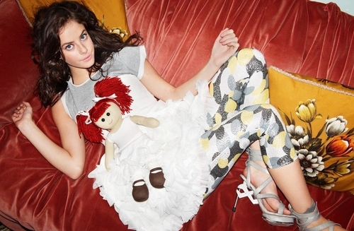 Kaya in Nylon Guys