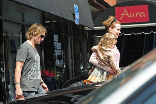 Keith, Nicole and Sunday in Los Angeles