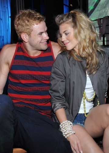 Kellan Lutz at nightclub in St-Marteens Island with Annalynne & Friends