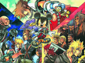 Kingdom Hearts 1, 358/2 Days and Birth por Sleep