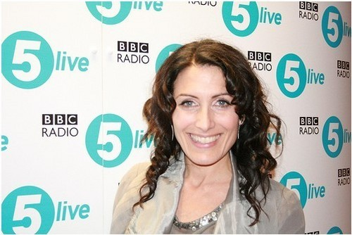 Lisa @ BBC Radio April 12, 2010