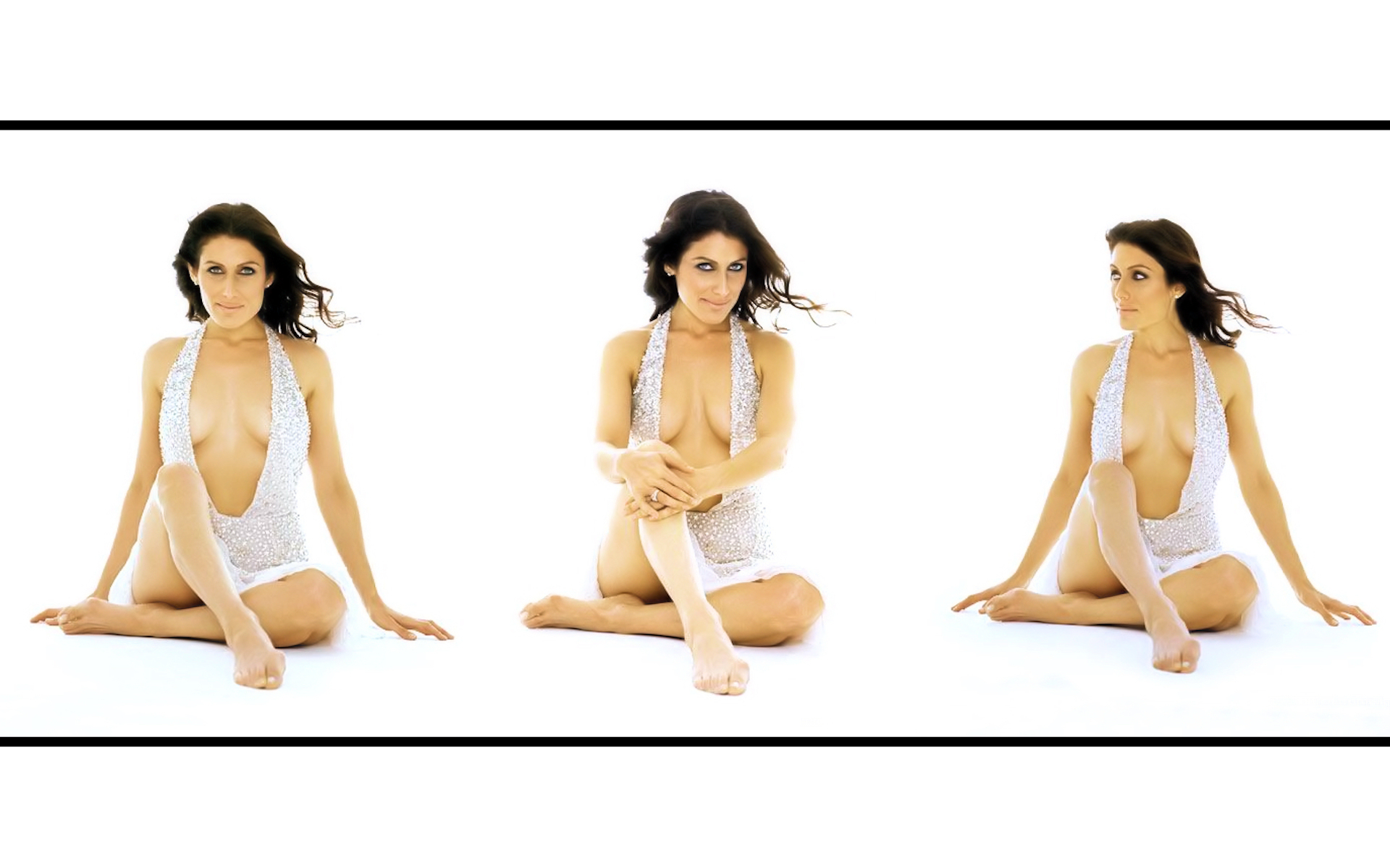 Lisa Edelstein x3 widescreen پیپر وال