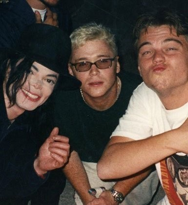 MJ and Leonardo Dicaprio - michael-jackson photo