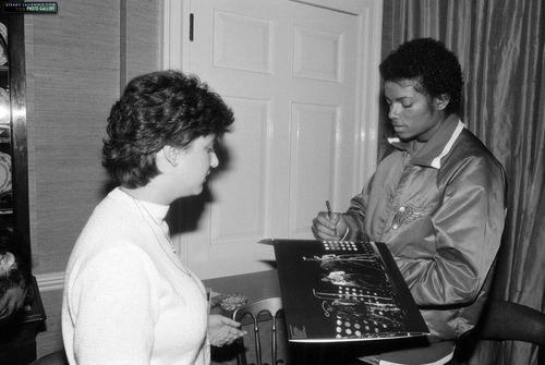 MJ in England