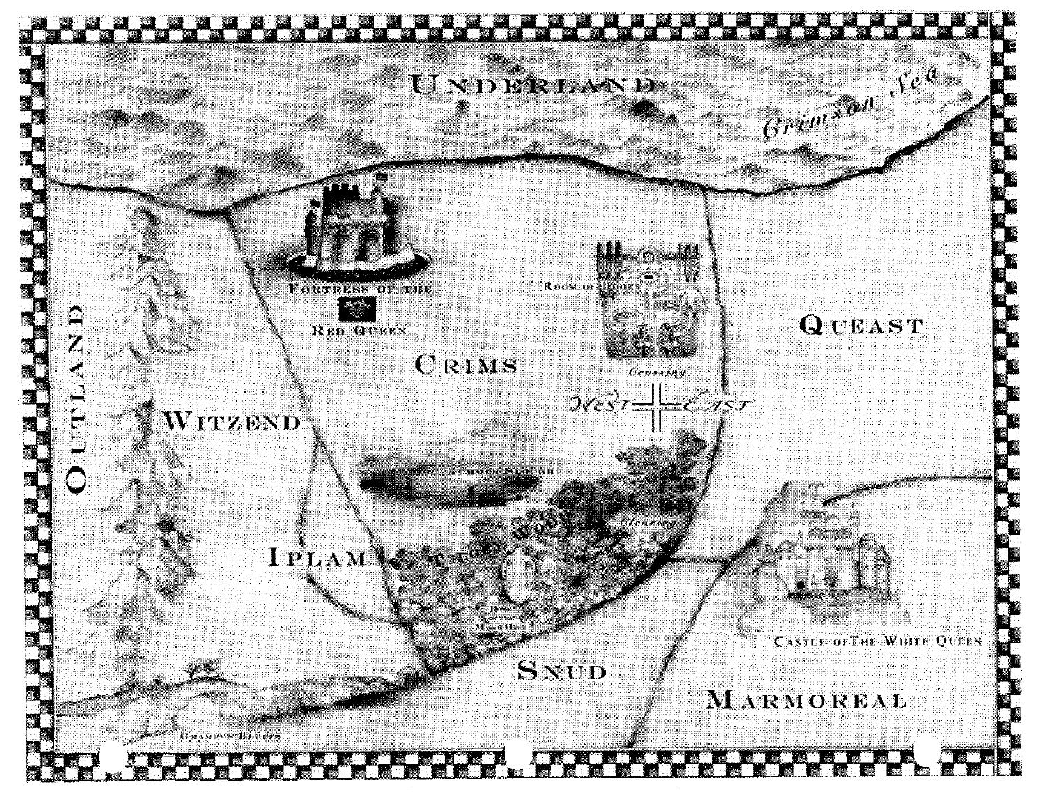 Map of Underland