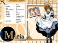 Maria's Biodata - hayate-the-combat-butler wallpaper