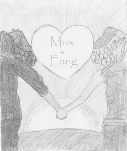 Maximum Ride kertas dinding entitled Max+Fang=FAXNESS
