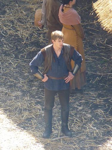 Merlin on BBC wallpaper titled Arthur