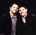 Misha & Jensen - misha-collins photo