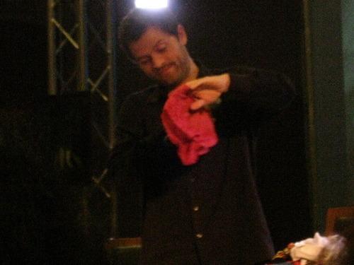 Misha's underwear! ;P