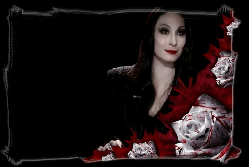 Morticia and バラ