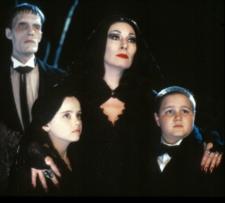 Morticia w/ children