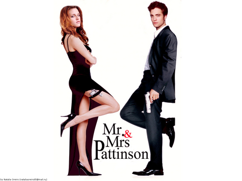 Mr and Mrs. Pattinson