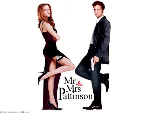 Mr and Mrs. Pattinson