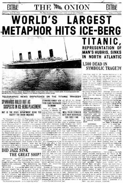essay on titanic sinking Titanic essay capacity left a large amount of passengers and crew stranded on the sinking ship the 20 lifeboats on the titanic could have held.