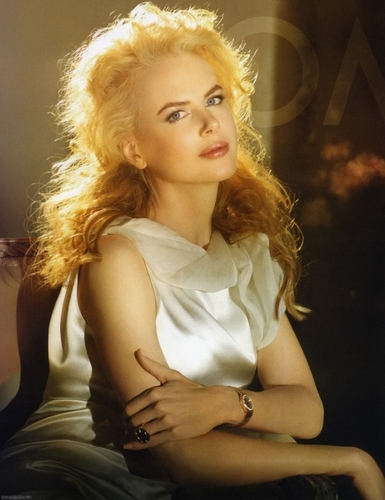 Nicole Kidman for Omega Watches Advert