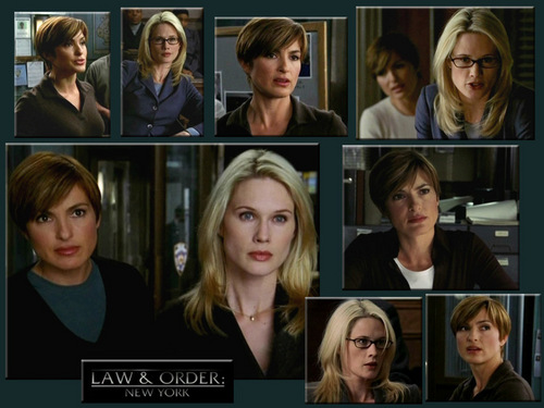 Law and Order SVU wallpaper called Olivia /Alex