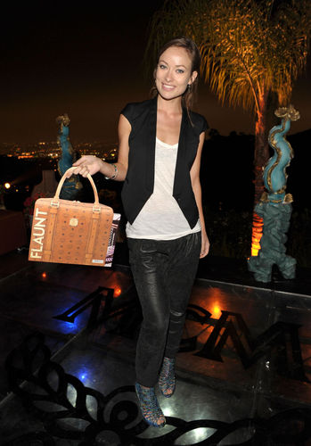 Olivia Wilde @ the 'MCM Gets Carried Away In LA' Event (April 2010)