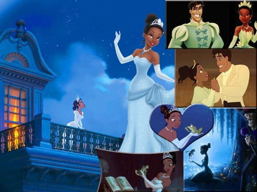 The Princess and the Frog wallpaper titled Princess Tiana