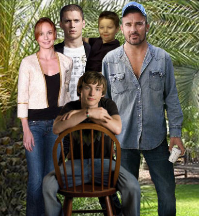 Prison Break - Family Scofield and Family Burrows