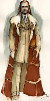 Costume Sketch - Marius