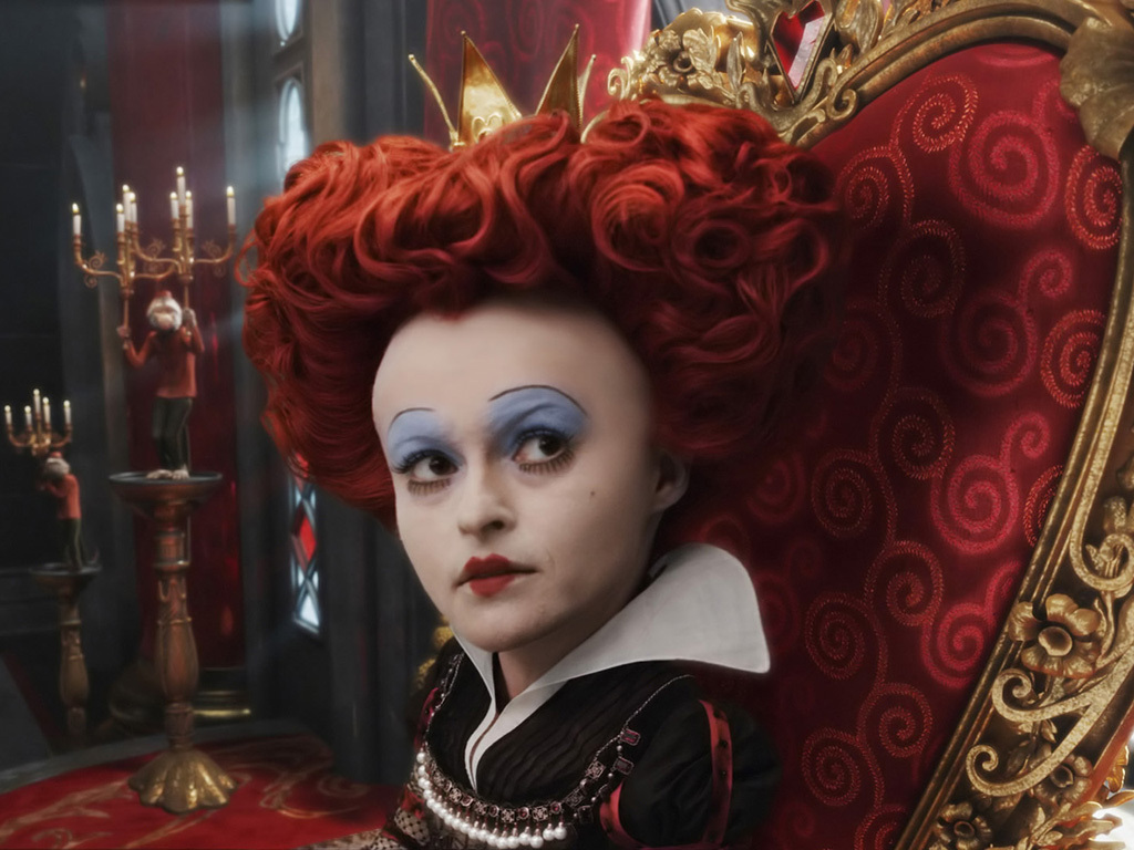 the red queen in alice in wonderland