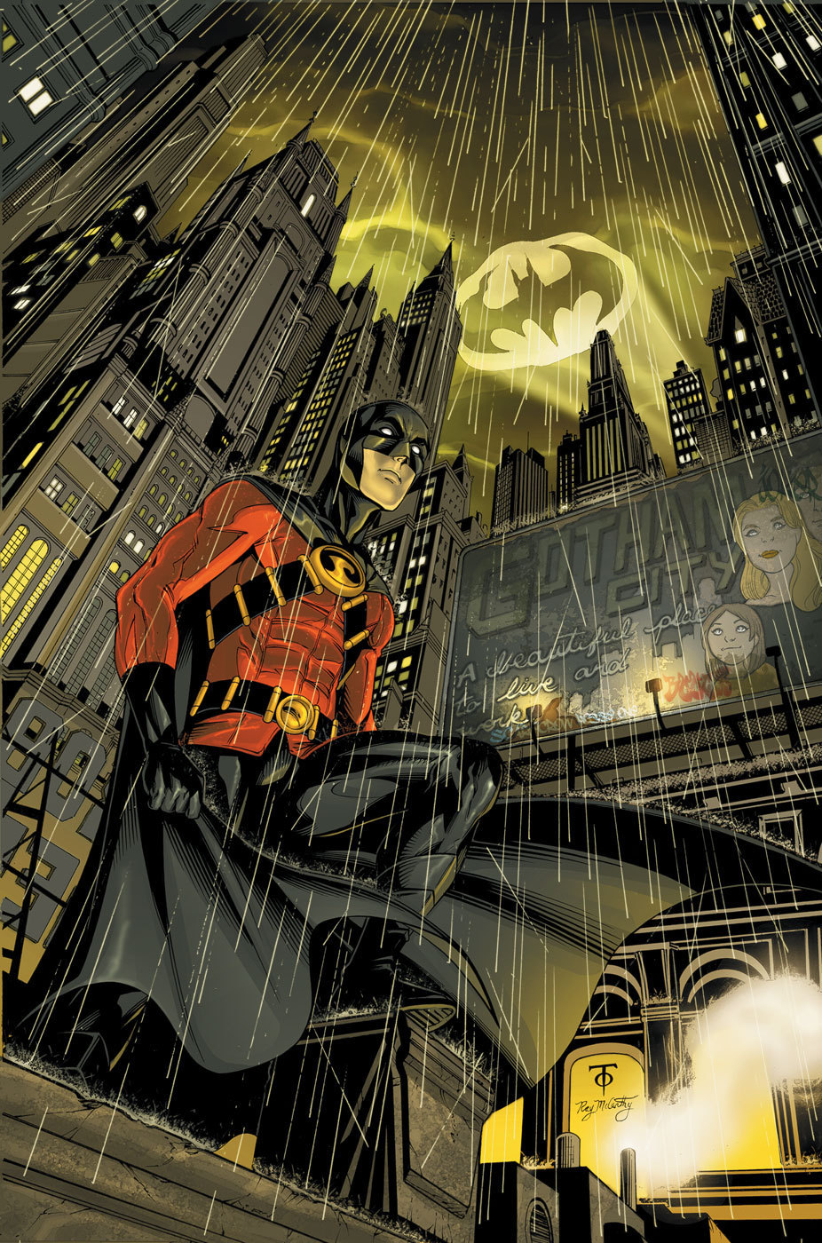 Tim Drake images Red Robin HD wallpaper and background ...