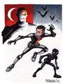 Robin vs Deathstroke (Slade)