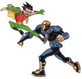Robin vs Deathstroke (Slade) - teen-titans photo