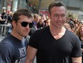 Sam at Russell Crowe Walk of Fame Ceremony (04.12.10) - sam-worthington photo