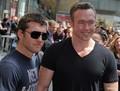 Sam at Russell Crowe Walk of Fame Ceremony (04.12.10) - sam-worthington photo