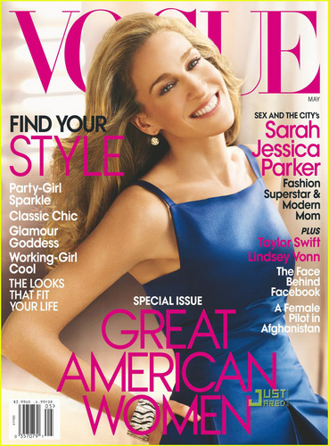 Sarah Jessica Parker - 'Vogue' Cover Girl May 2010
