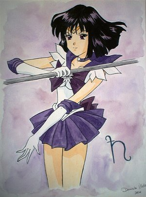 Sailor Saturn Hintergrund called Saturn
