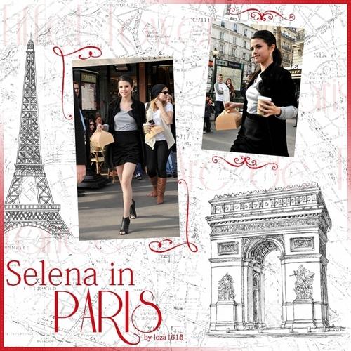 Selena Gomez in Paris