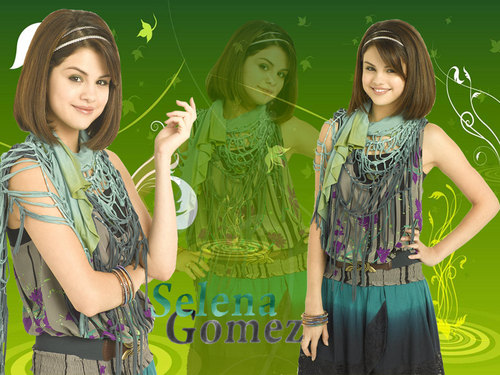 Selena Gomez-wizards of waverly place season 3 photoshoot wallpapers!!!!