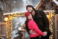 Snowtrip - jared-padalecki-and-genevieve-cortese photo