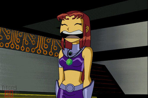 Teen Titans Girls Hintergrund titled Starfire