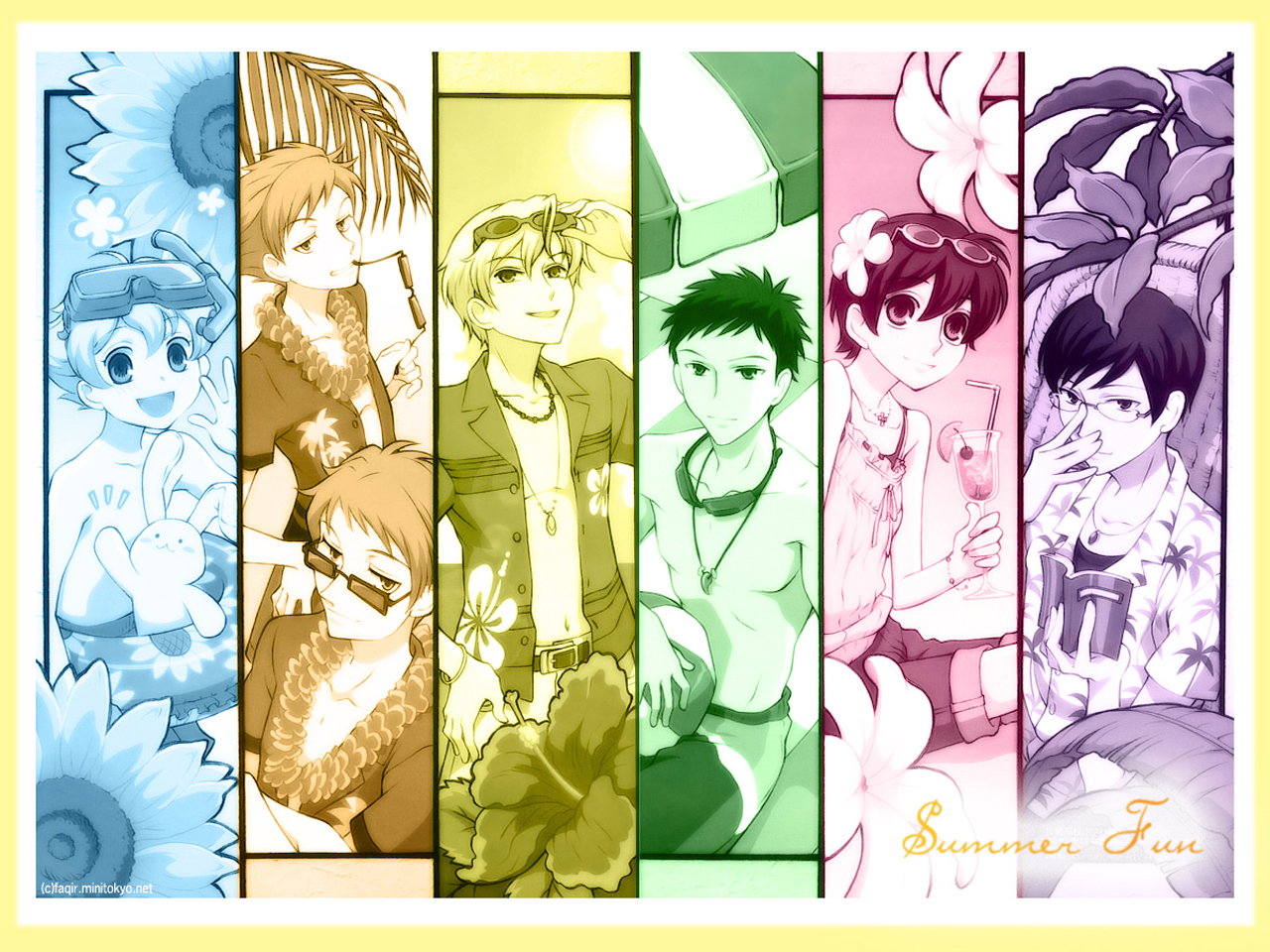 Ouran High School Host Club images Summer Fun HD wallpaper and ...