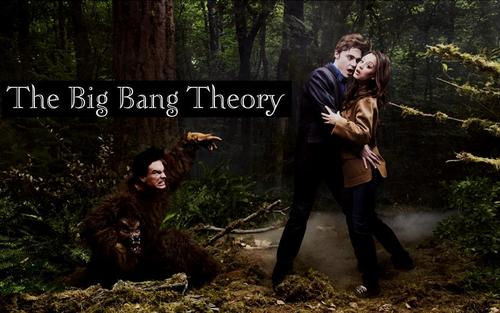 The Big Bang Theory wallpaper called The Big Bang Theory ~ Twilight Spoof